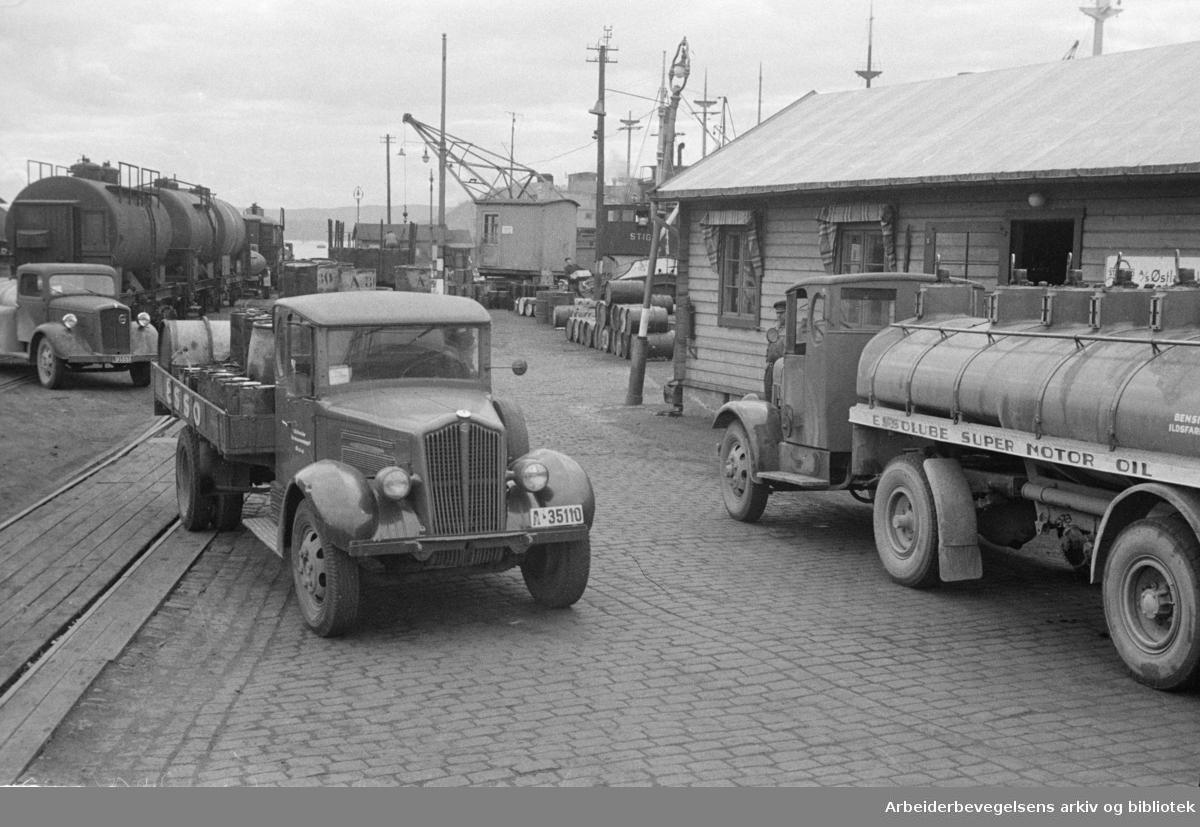 Nylands verksted og Tomtebrygga. 1946