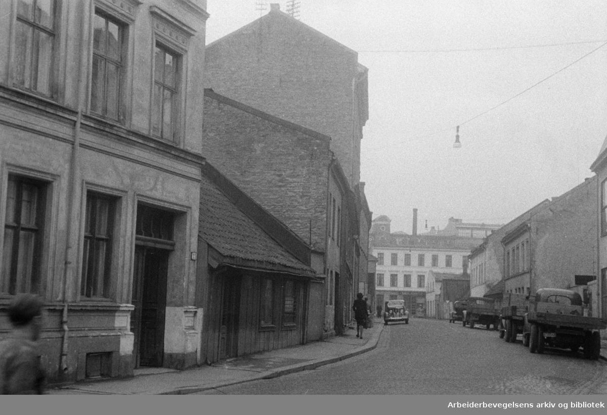 Norbygata. November 1946