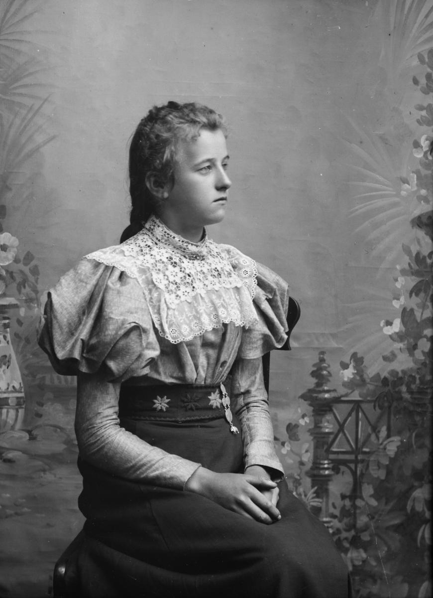 Portrett av Gunhild Blekastad
