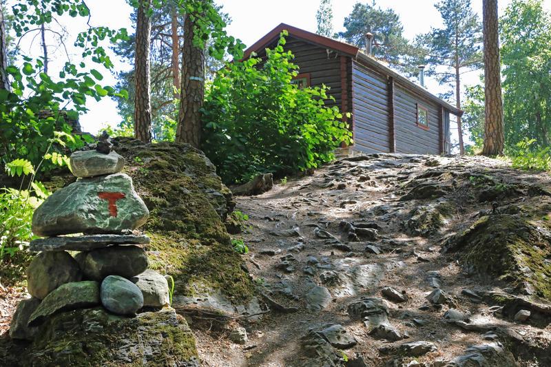 DNT-hytta Hovinkoia, Norsk Folkemuseum. Foto: Astrid Santa, Norsk Folkemuseum. (Foto/Photo)