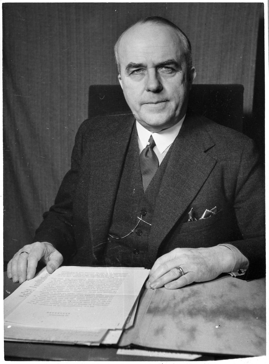 Gustaf Otto Vilhelm Dahlbeck, Generaldirektör.