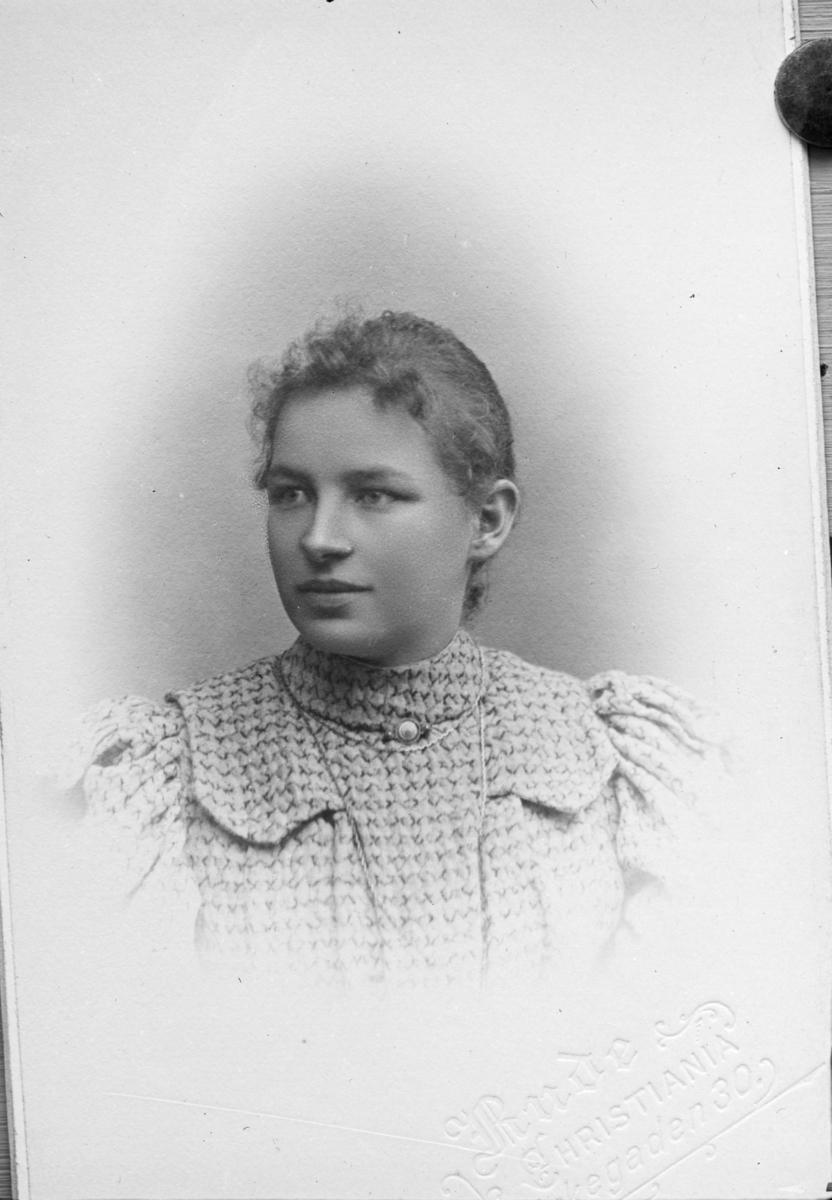 Portrett av fru Ingeborg Fosheim.