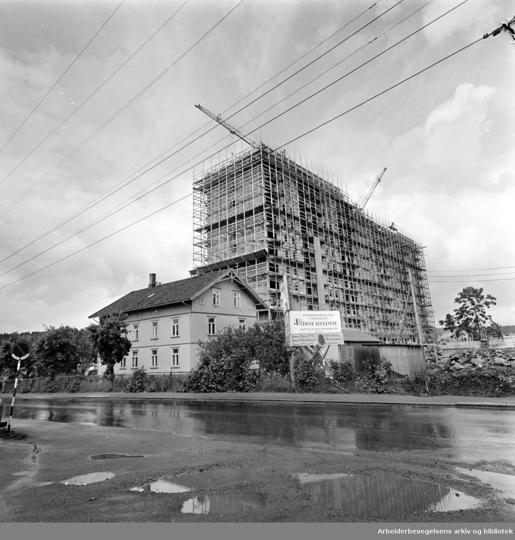 Grorud Torg. Juli 1962