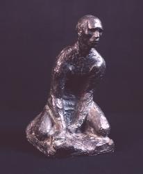 Knelende mann [Skulptur]