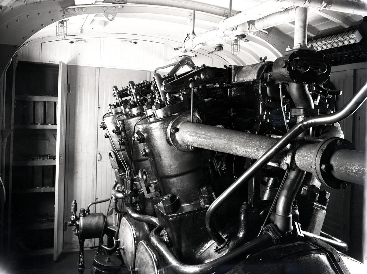 Diesel-elektrisk vagn för HHJ.