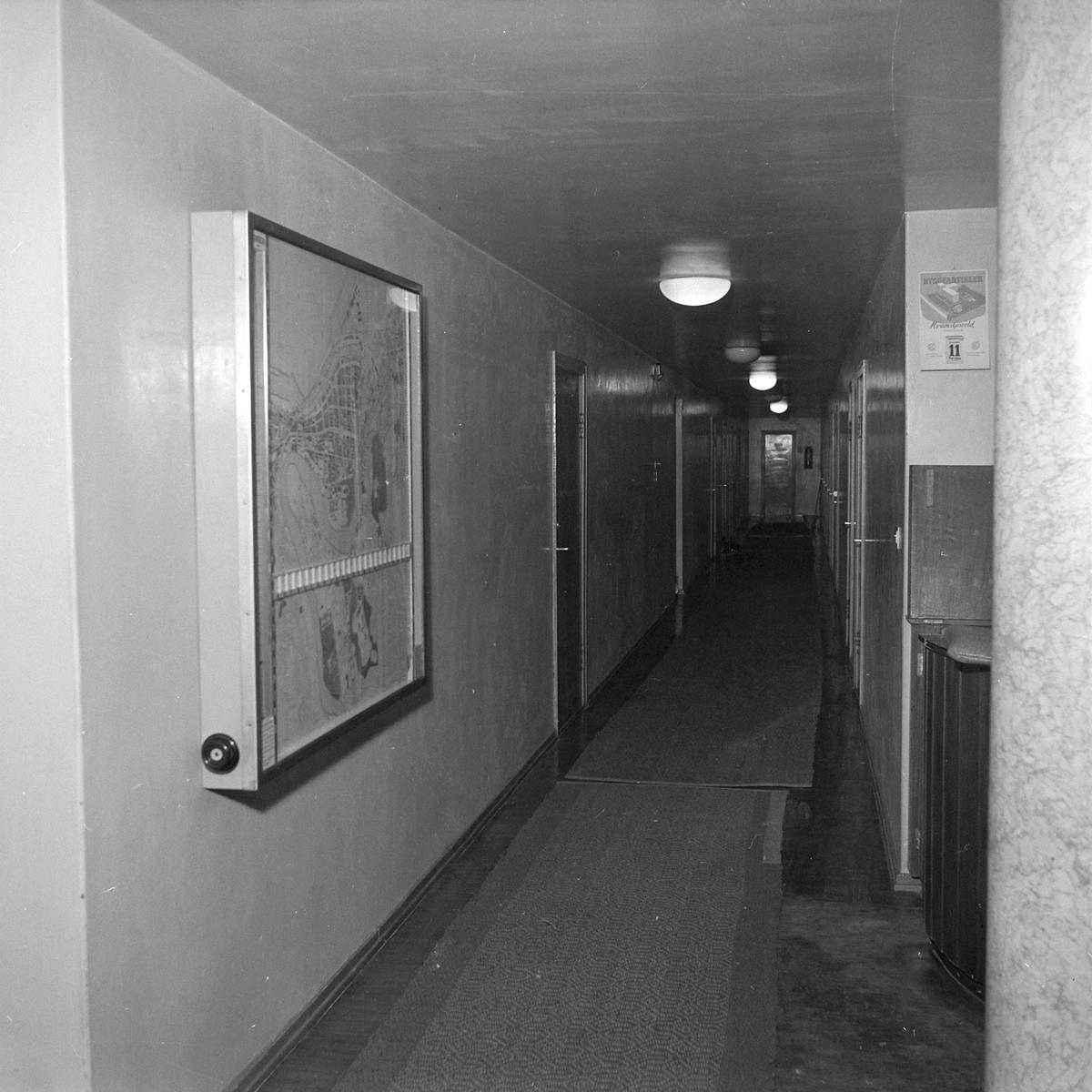 Bykart, informasjonstavle i Tinghuset