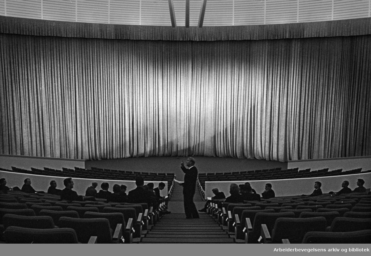 Colosseum Kino: Interiører. September 1964