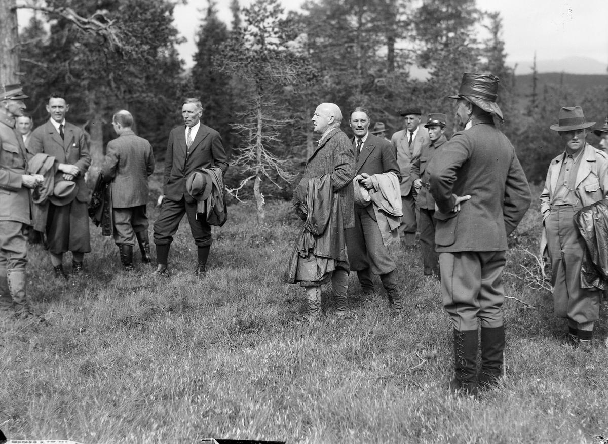 Skogrekruttskolen på øvelser i Holtålen
