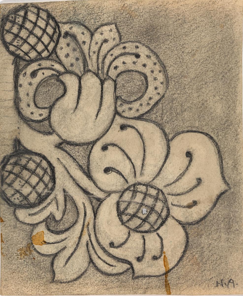 Blomst [Tegning]