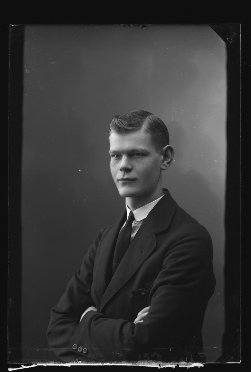 Museivaktmästare Nils Nygren, Västerås.