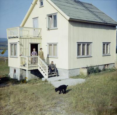 Huset fra Olderfjord, 1960-tallet (Foto/Photo)