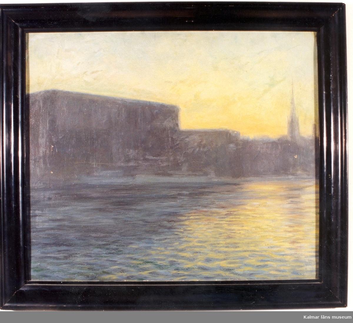 Motivet föreställer Stockholms slott.