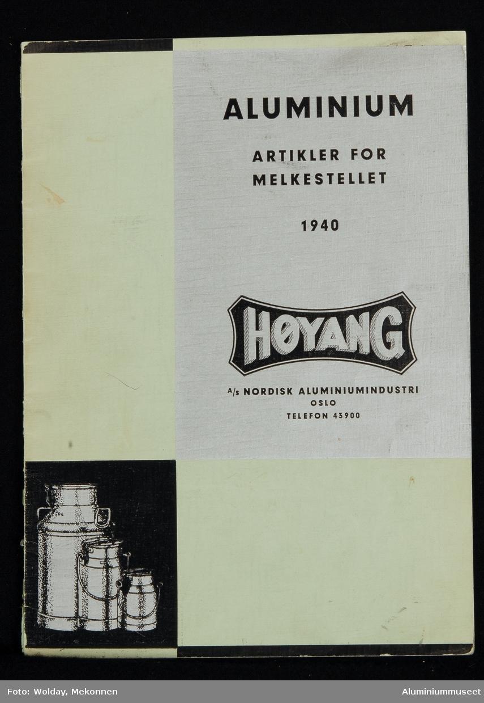 Katalog på 16 sider.