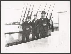 Tre deltagare i Svensk-ryska gradmätningsexpeditionen