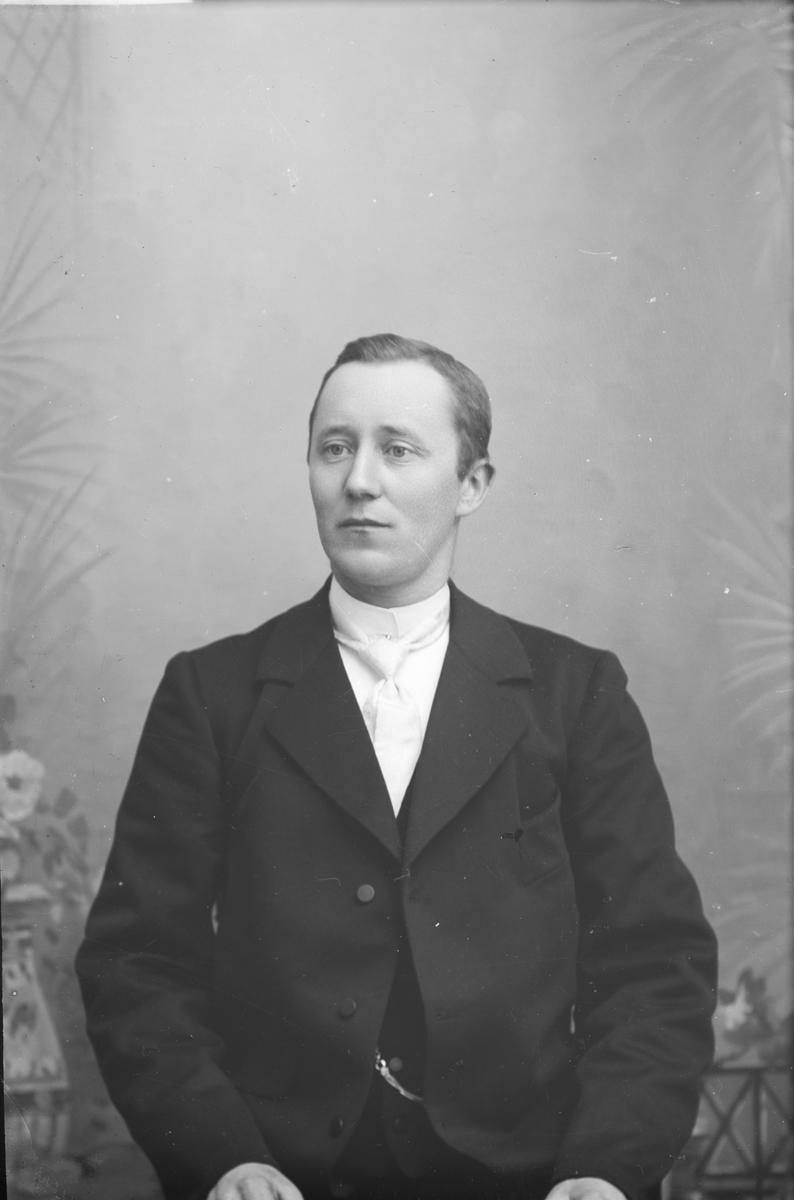Portrett, brystbilde, H. S. Trosvik