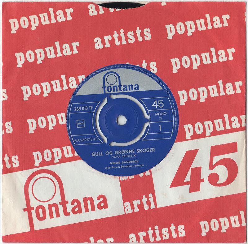 Vidar Sandbeck single nr. 5