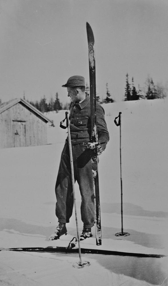 Knut Nordfjellmark, Majavassrennet 1934.