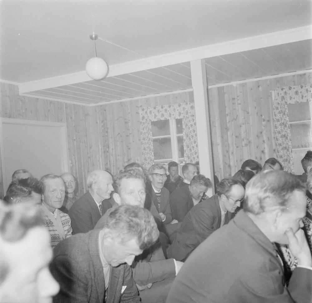 Næringsmøte, turistnæringen, i Fiplingdalen 1966.