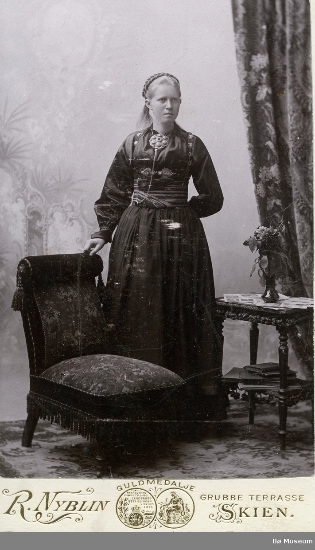 Portrett av Bergit Eika