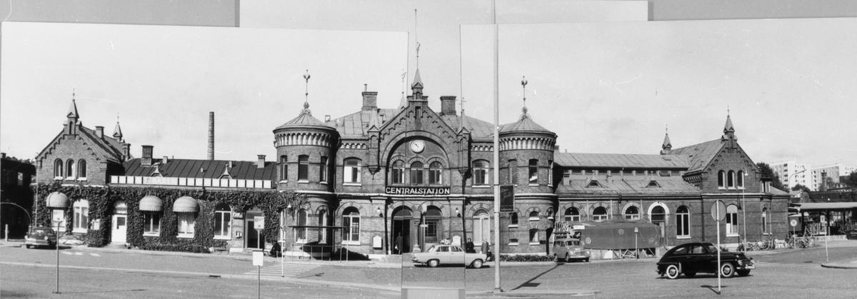 Centralstationen från gatusidan