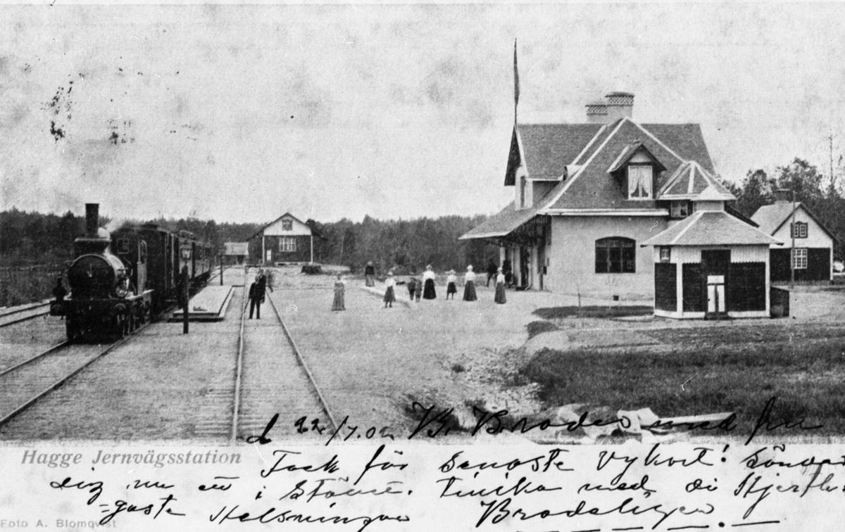 Hagge station.