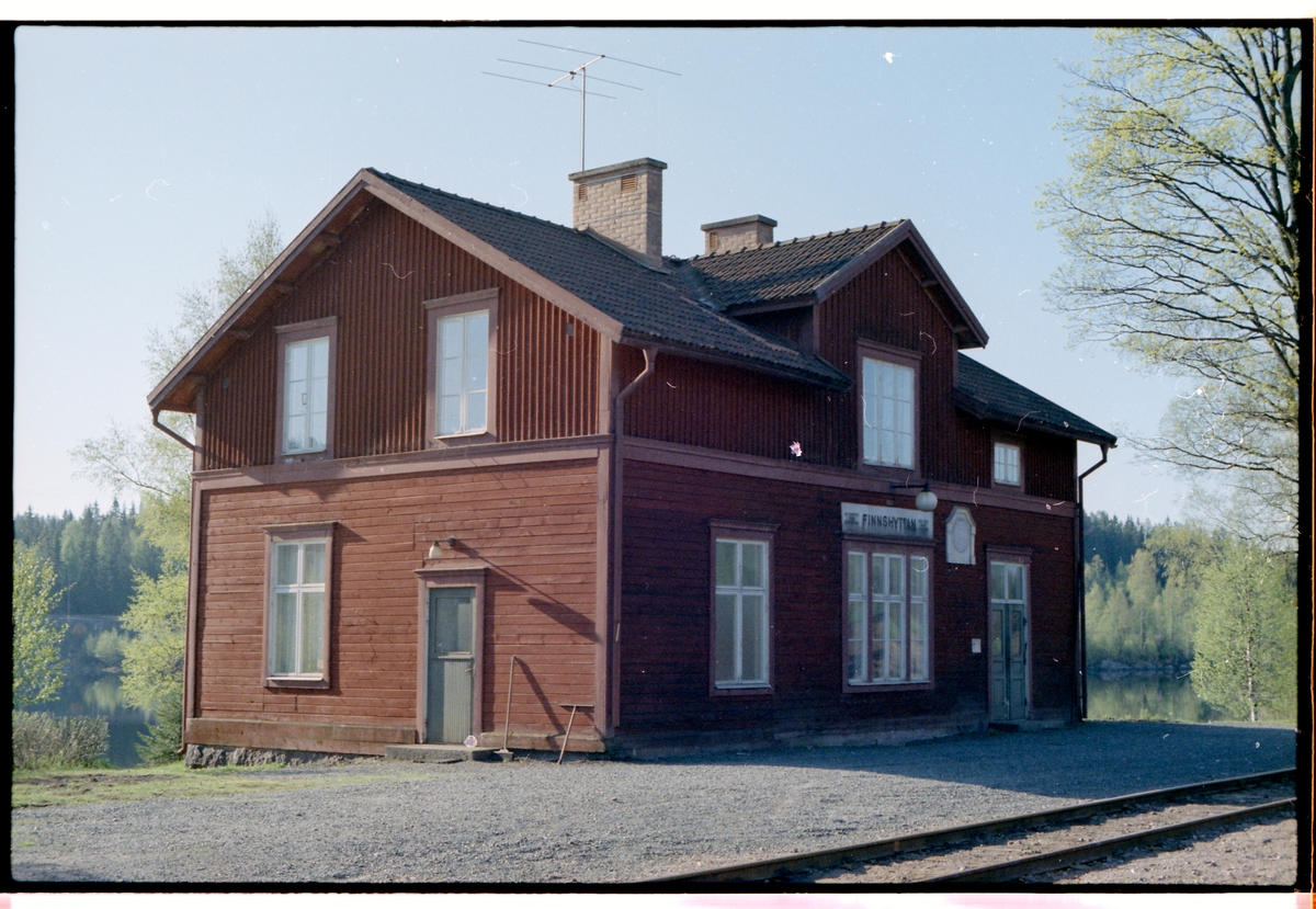 Finnshyttan station.