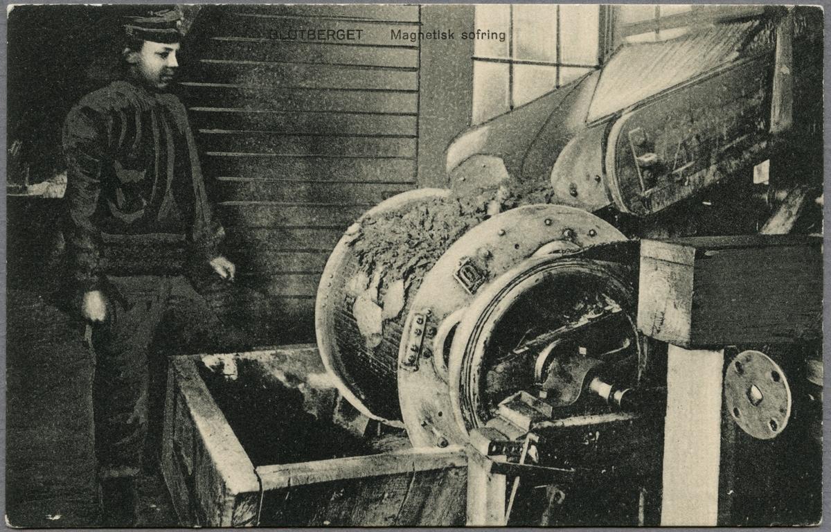 Magnetisk sovring i Blötberget.
