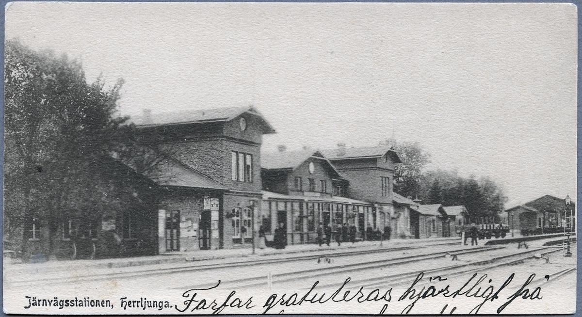 Herrljunga station.