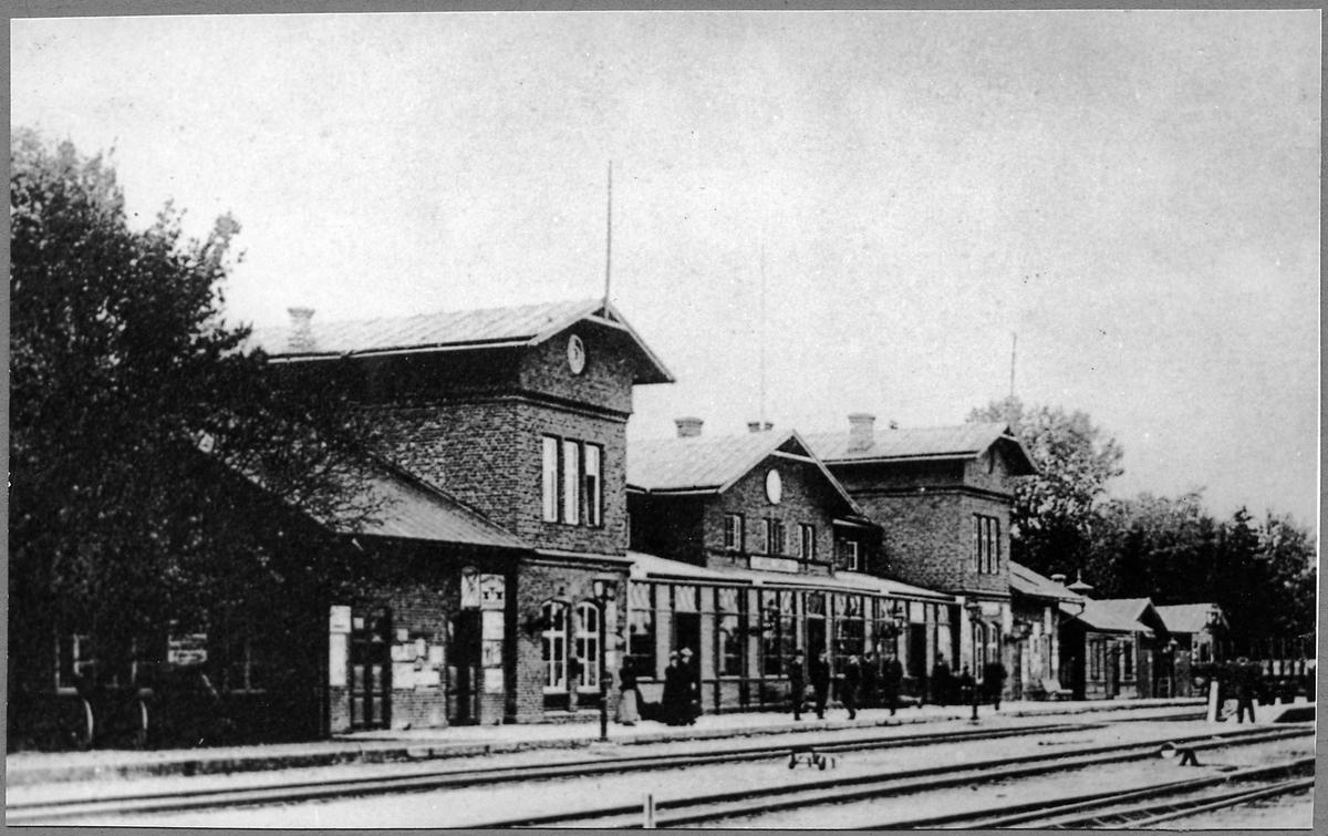 Herrljunga Järnvägsstation.