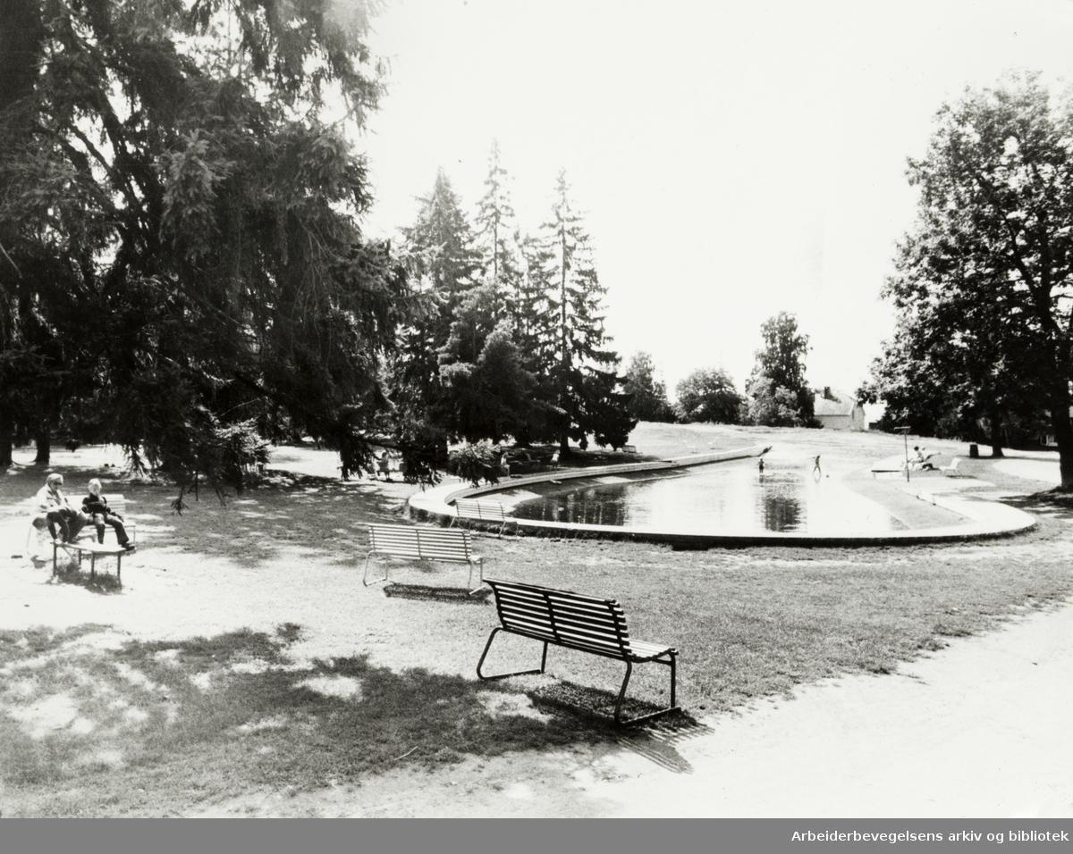Ekeberg. Ballsletta. September 1979