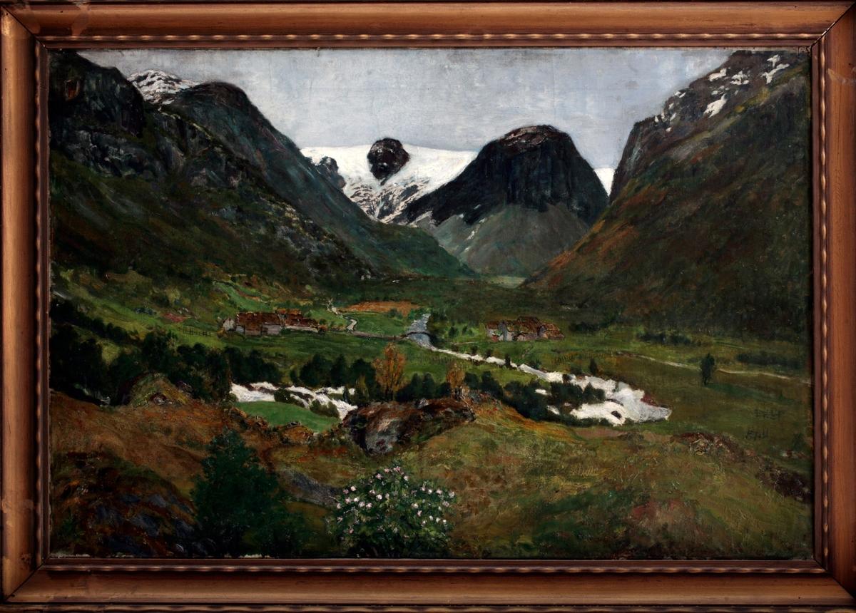 Fond i Jølster [Maleri]