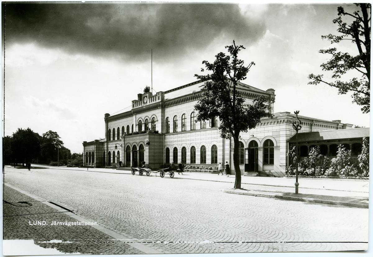 Lund station.