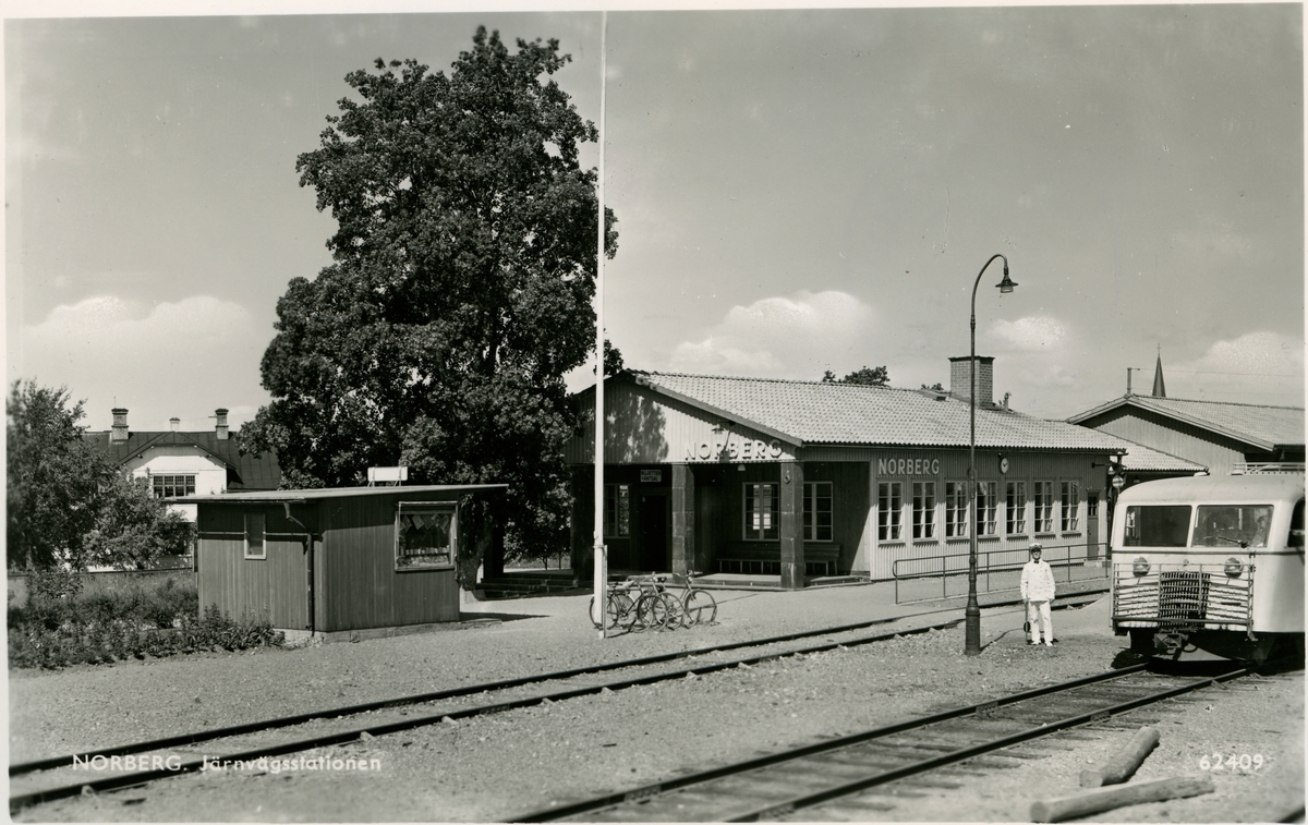 Norberg station, det nya stationshuset