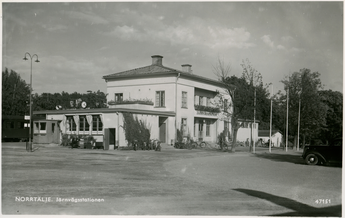 Norrtäljes station.