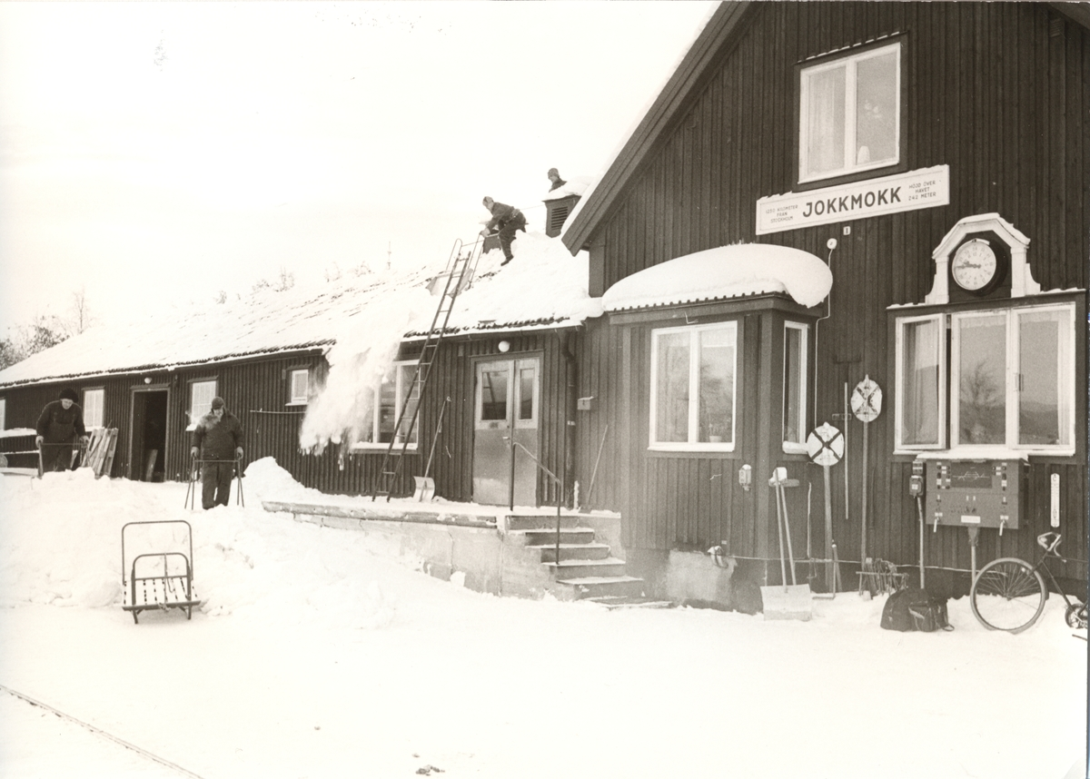 Jokkmokk station.