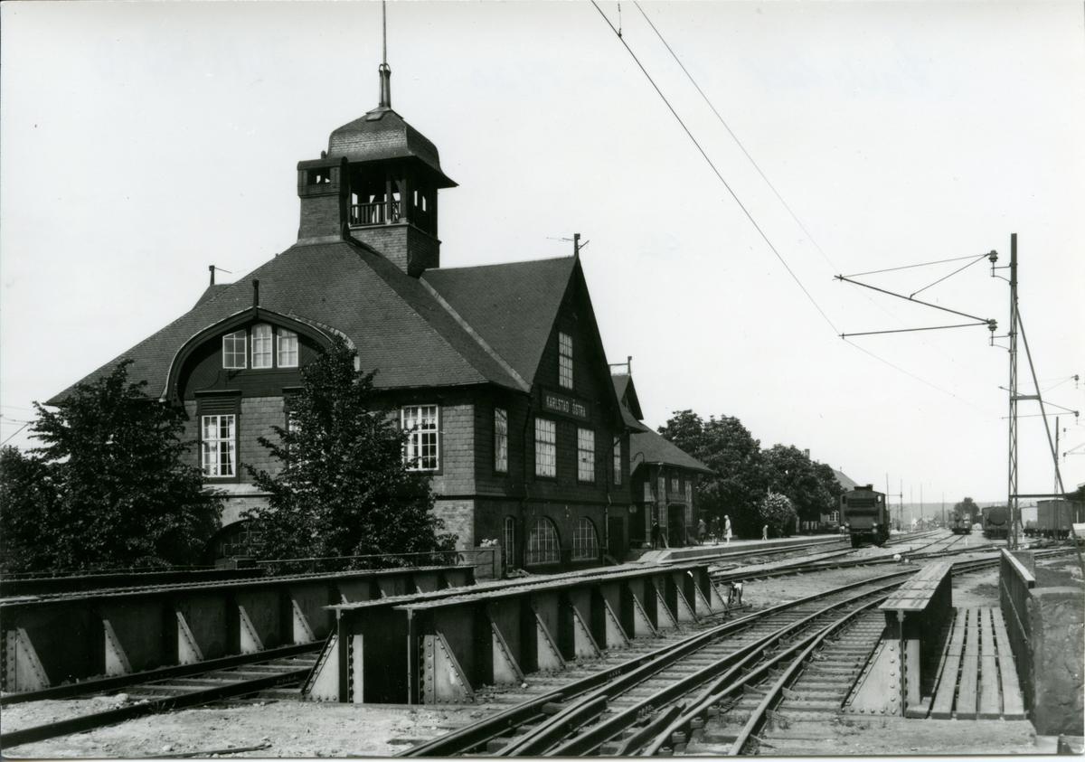 Karlstad Ö. 1920. Treskensspår