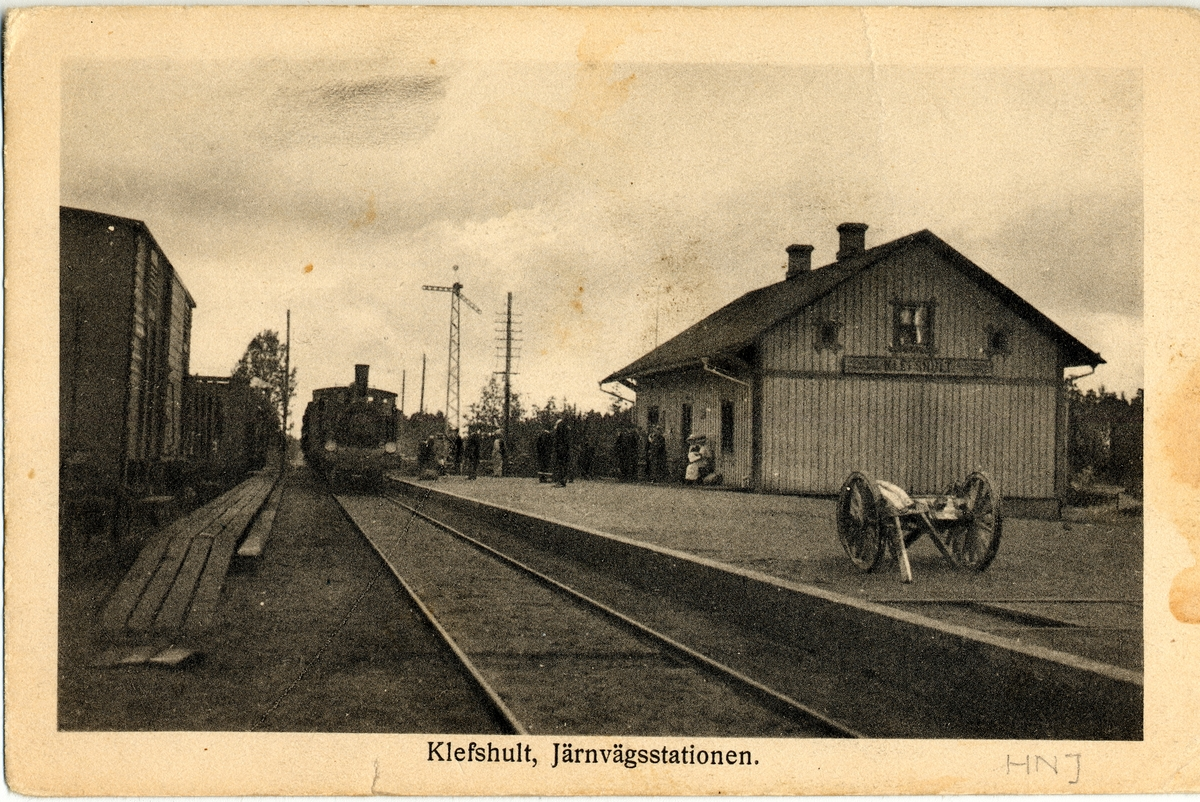 Klevshult station.
