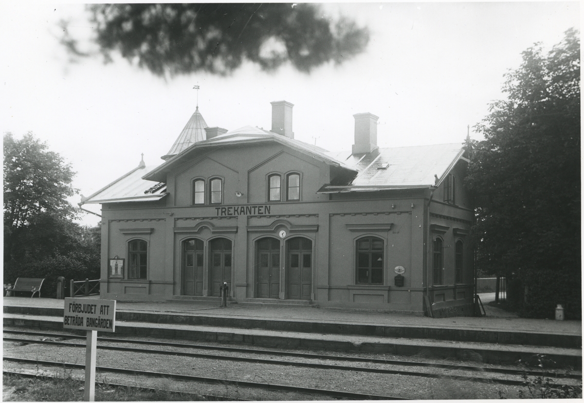 Stationshuset i Trekanten.