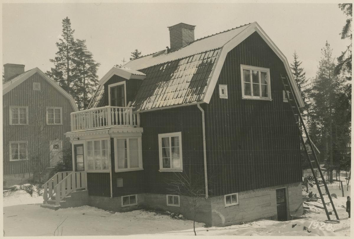 Ulriksdals Järnvägshem. Kvarteret Reparatören nr 12.