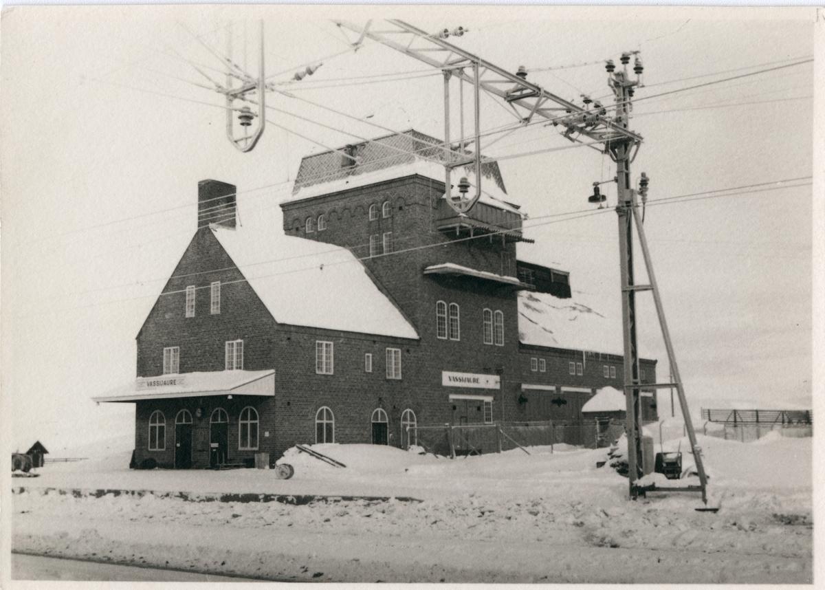 Statens Järnvägar, SJ, Stationen byggd 1902 elektrifering 1915.