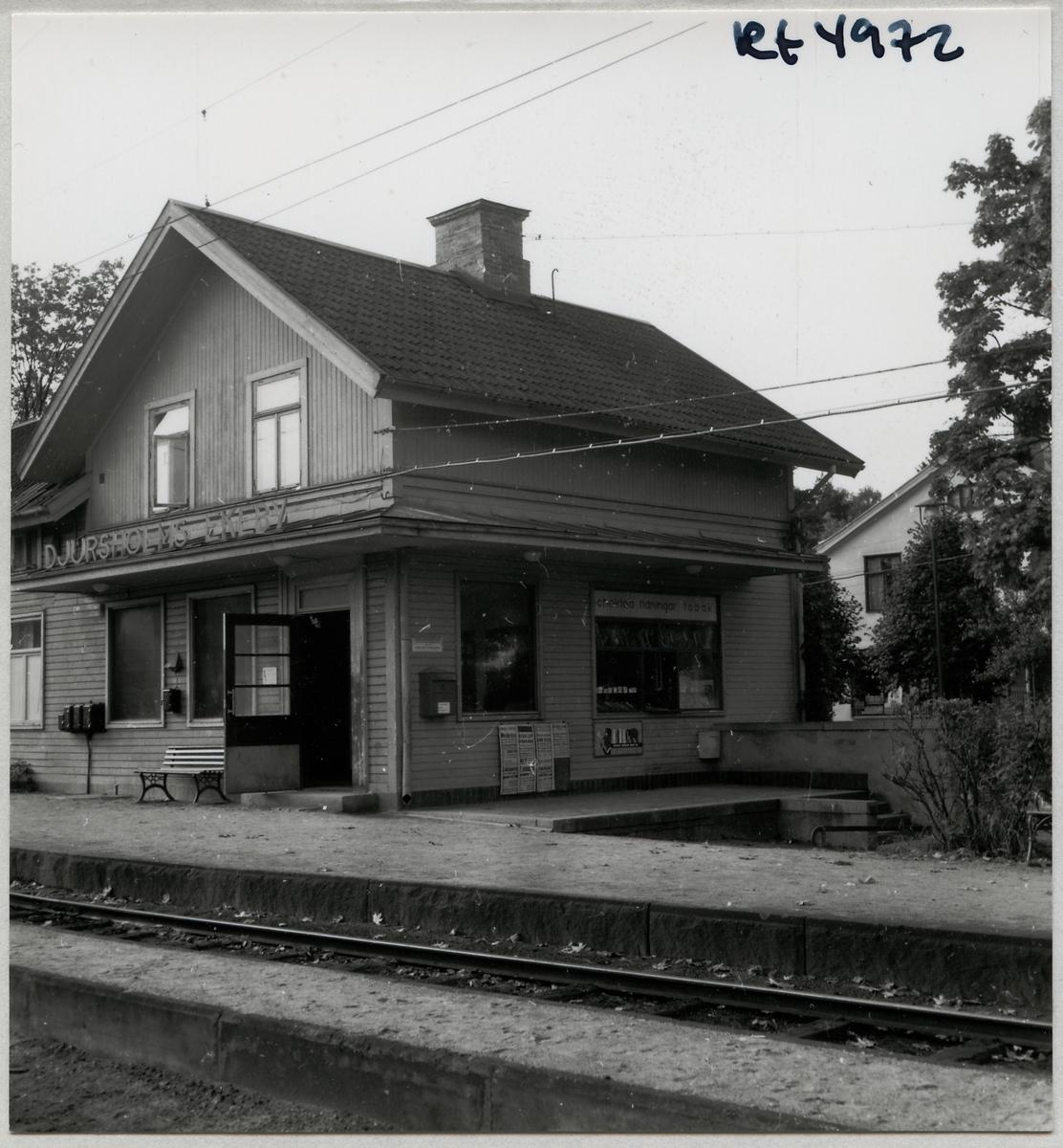 Djursholms Ekeby station.