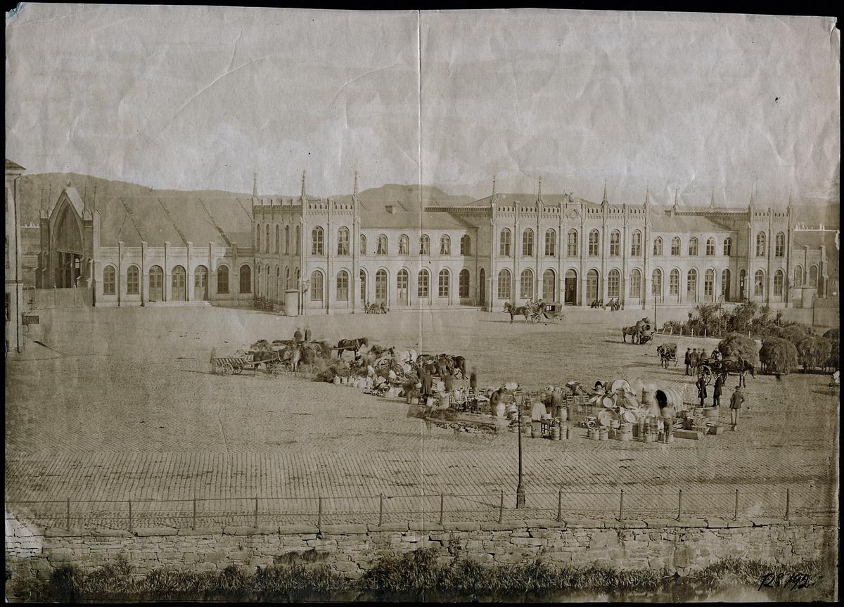 Göteborg centralstation 1870-tal.