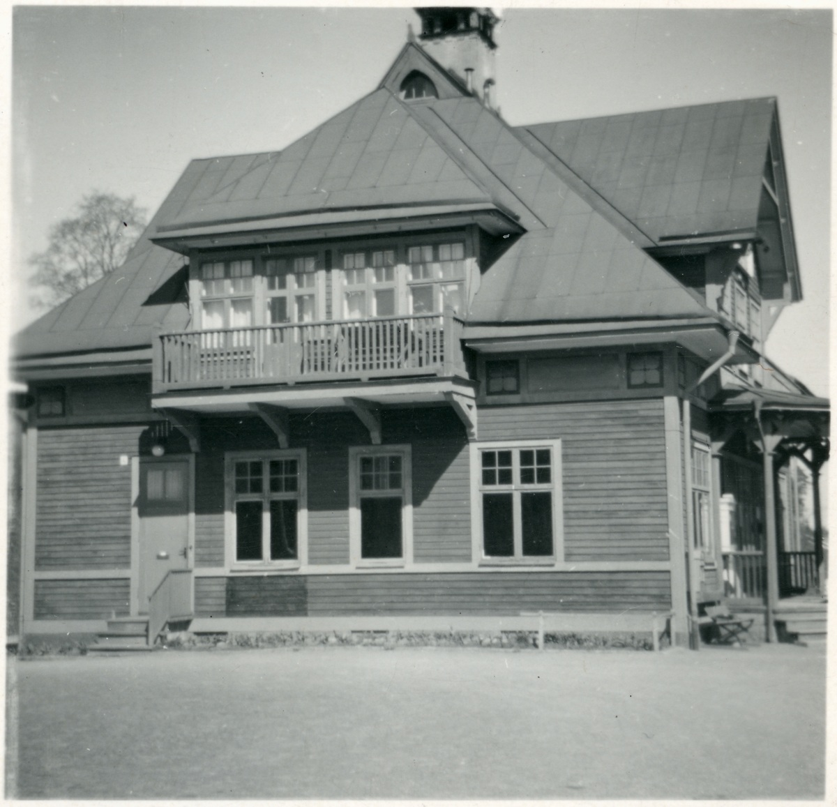 Malmköping stationshus.
