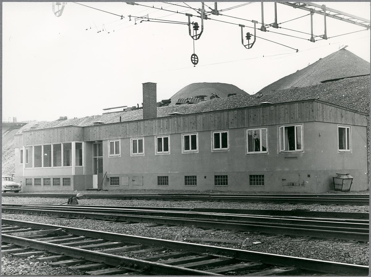 Ställverksbyggnaden i Vitåfors.