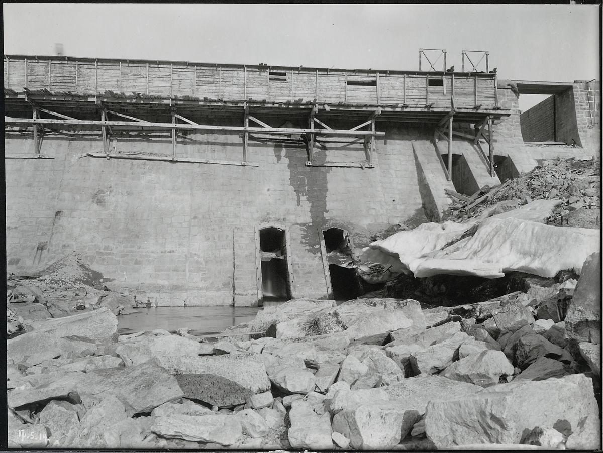 Porjus kraftverk vid Stora Lule älv.