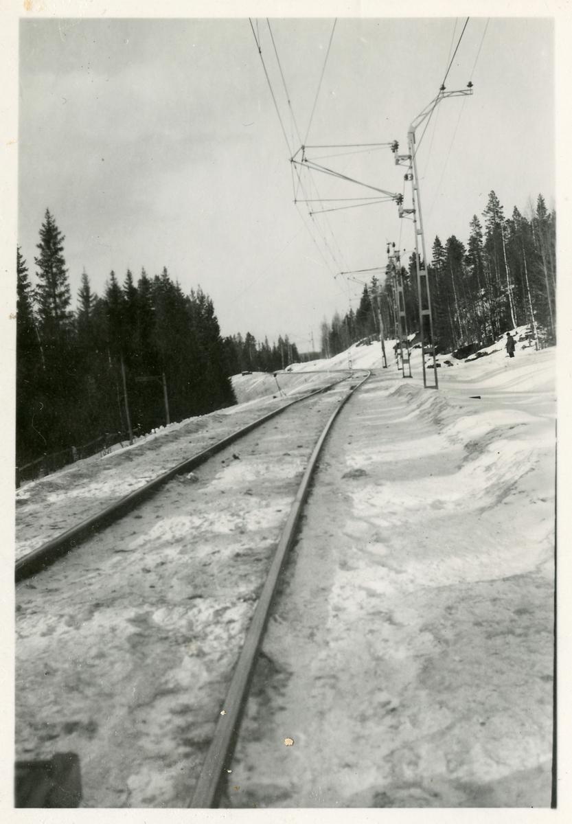 Flänssmörjapparat på linjen mellan Björna - Gottne.