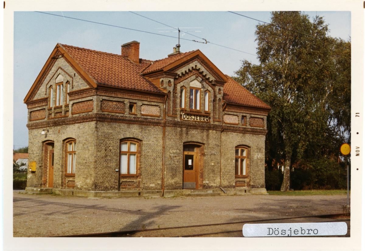 Dösjebro station.