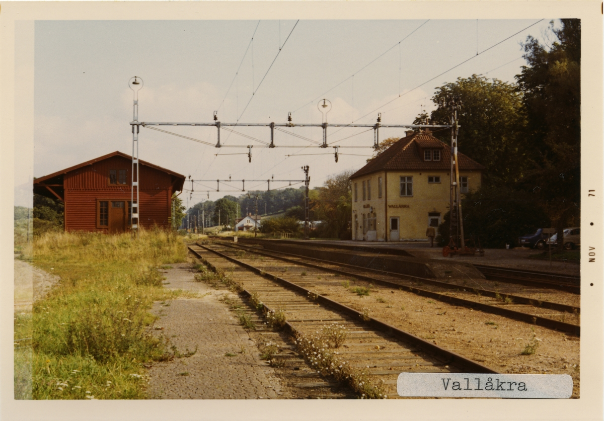 Wallåkra station.