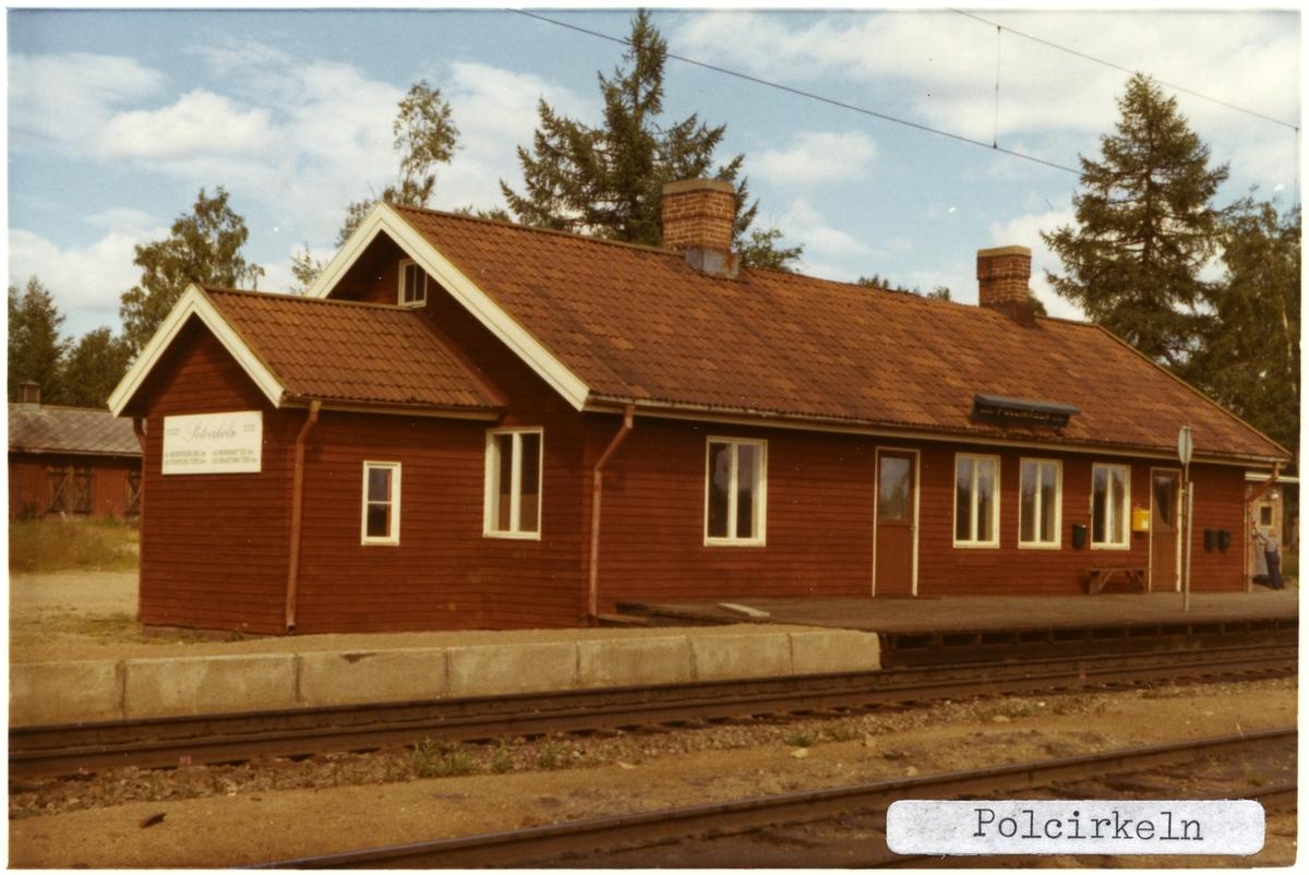 Polcirkeln station.