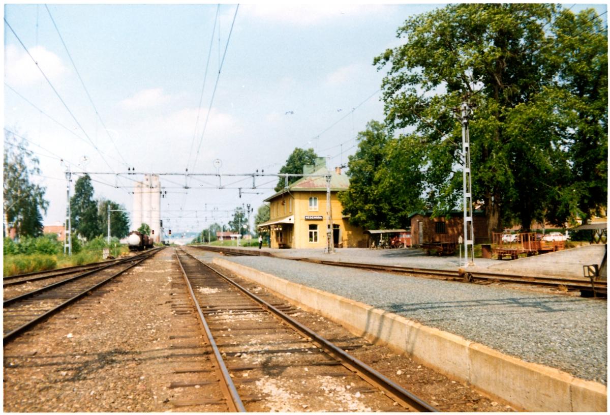 Hedemora station omkring år 1972.